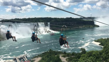 Now You Can Zipline 70 Metres Above Niagra Falls
