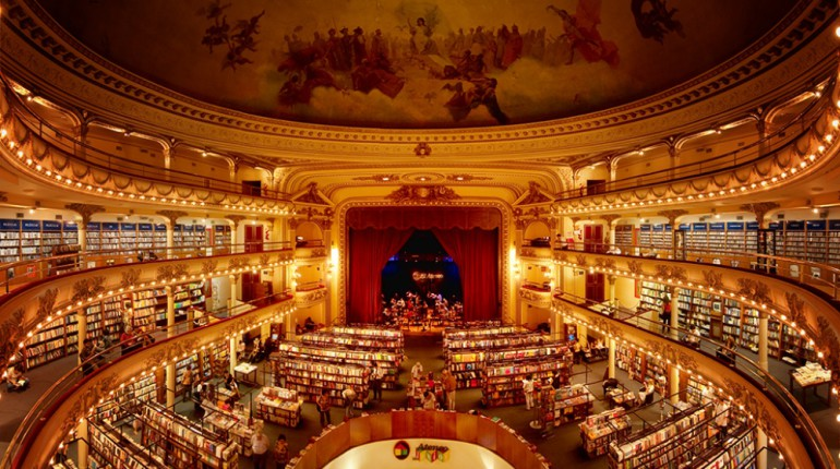 This 100-year-old Theater Has Been Turned Into The Most Incredible Bookshop In The World