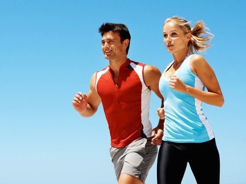 Run long distances if you want to be in shape.