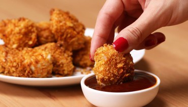 Cornflake Chicken Nuggets Recipe