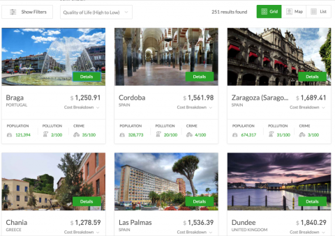 Let This Travel Budget Calculator Match You With Your Next Holiday Destination